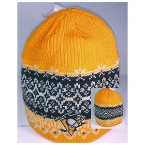 🐧NEW Adidas Pittsburgh Penguins Winter Knit Hat